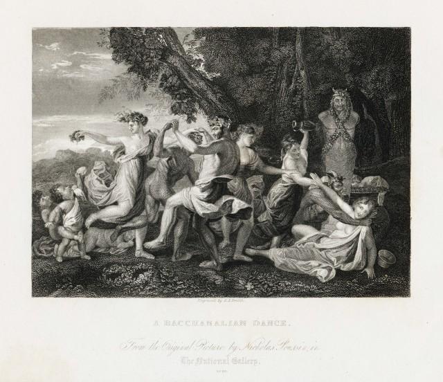 A Bacchanalian Dance - Nicolas Poussin