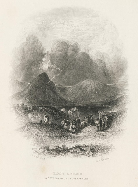 Loch Skene - The works of the Ettrick Sheperd 1874