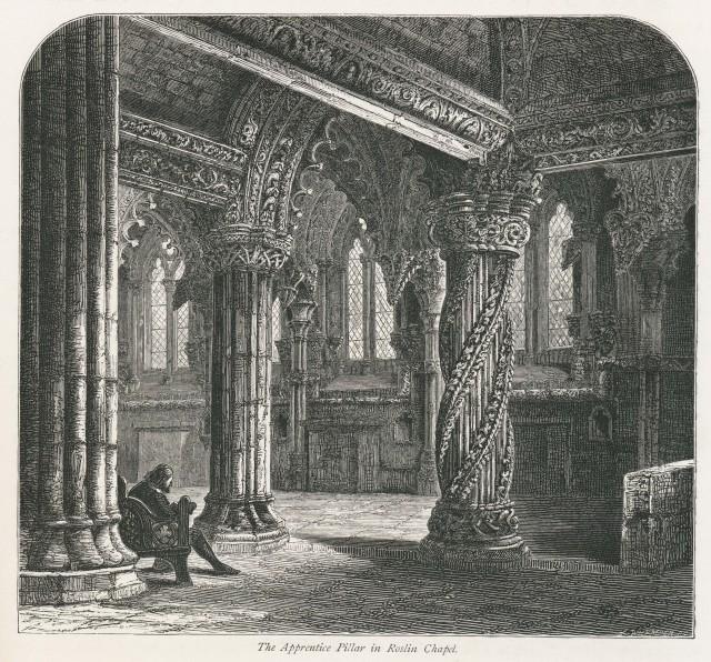 Apprentice Pillar, Roslin Chapel