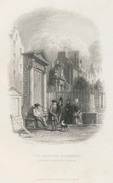 Martyr's Monument - Greyfriars Churchyard Edinburgh