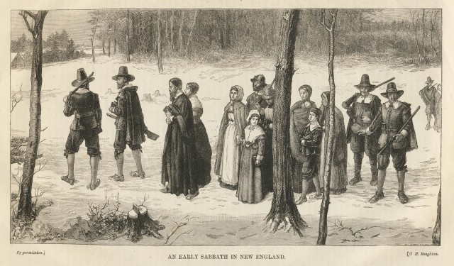 An Early Sabbath in New England