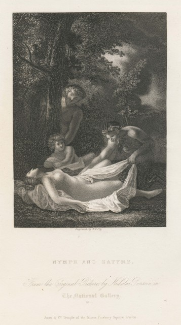 Nymph and Satyrs