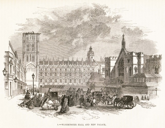 Westminster Hall and New Palace