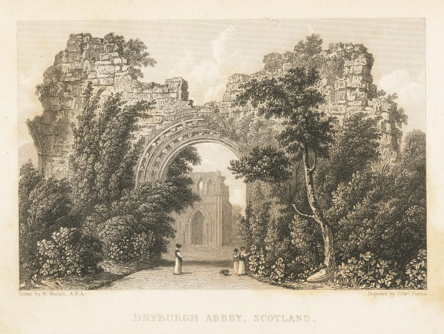 Dryburgh Abbey, Scotland