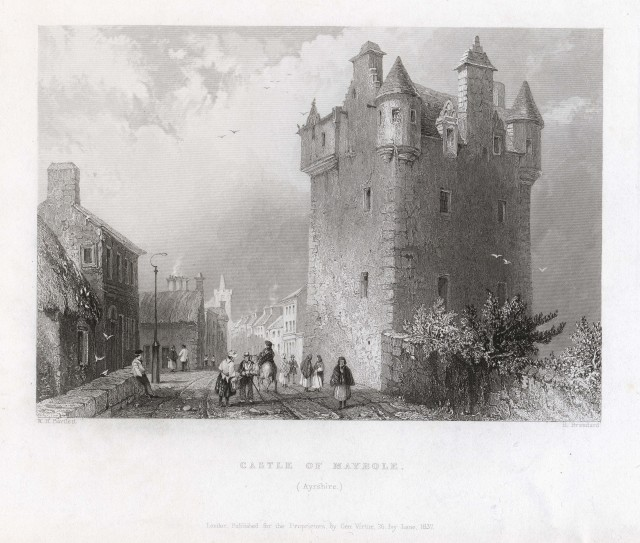 Castle of Maybole, Ayrshire