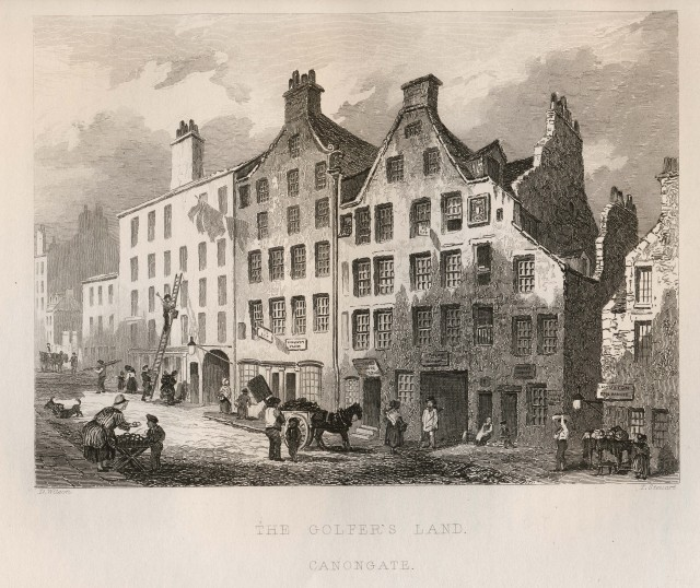 The Golfers Land, Canongate, Edinburgh