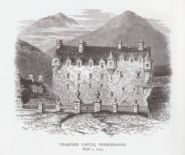 Traquair Castle, Peeblesshire